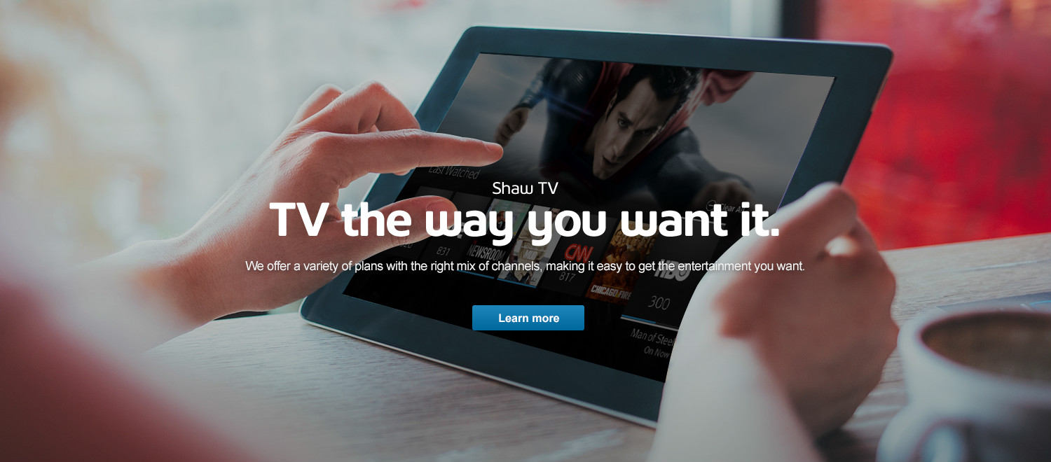 TV the way you want it.